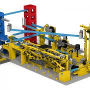 LEGO GBC 8 3D rendering