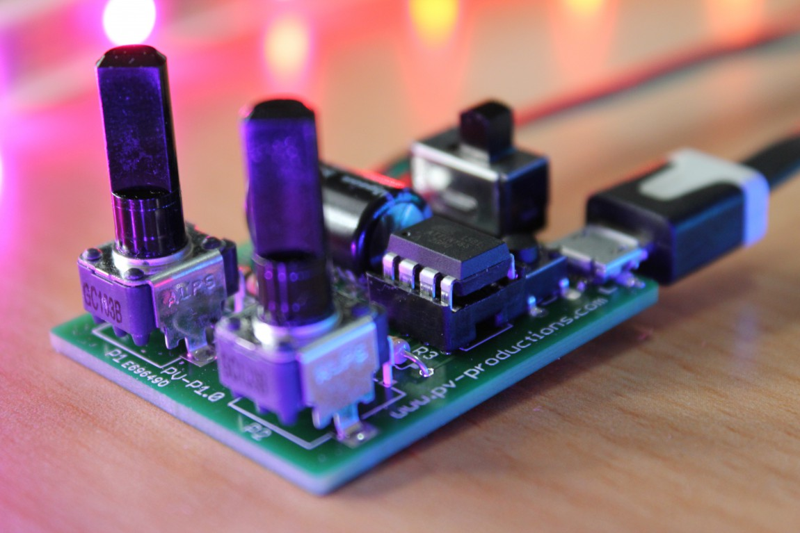 The RGB LEDstrip-driver