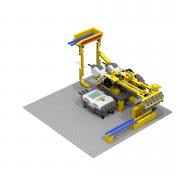 LEGO GBC Pick & Place Robot module - PV-Productions