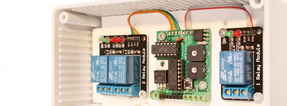 Custom NFC controller system