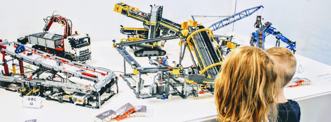 Where technology meets LEGO