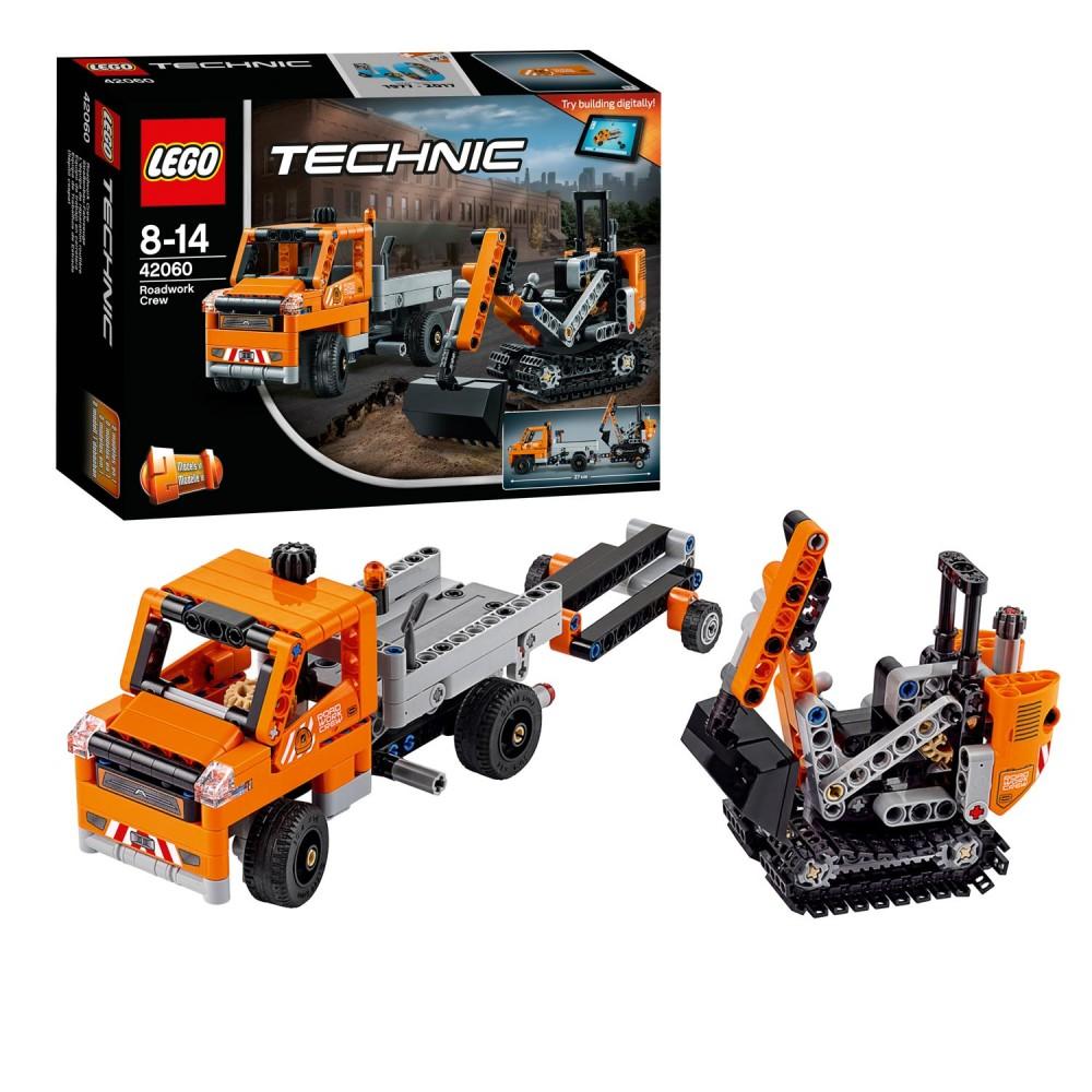 Lego Technic 42060 Roadwork Crew Pv Productions