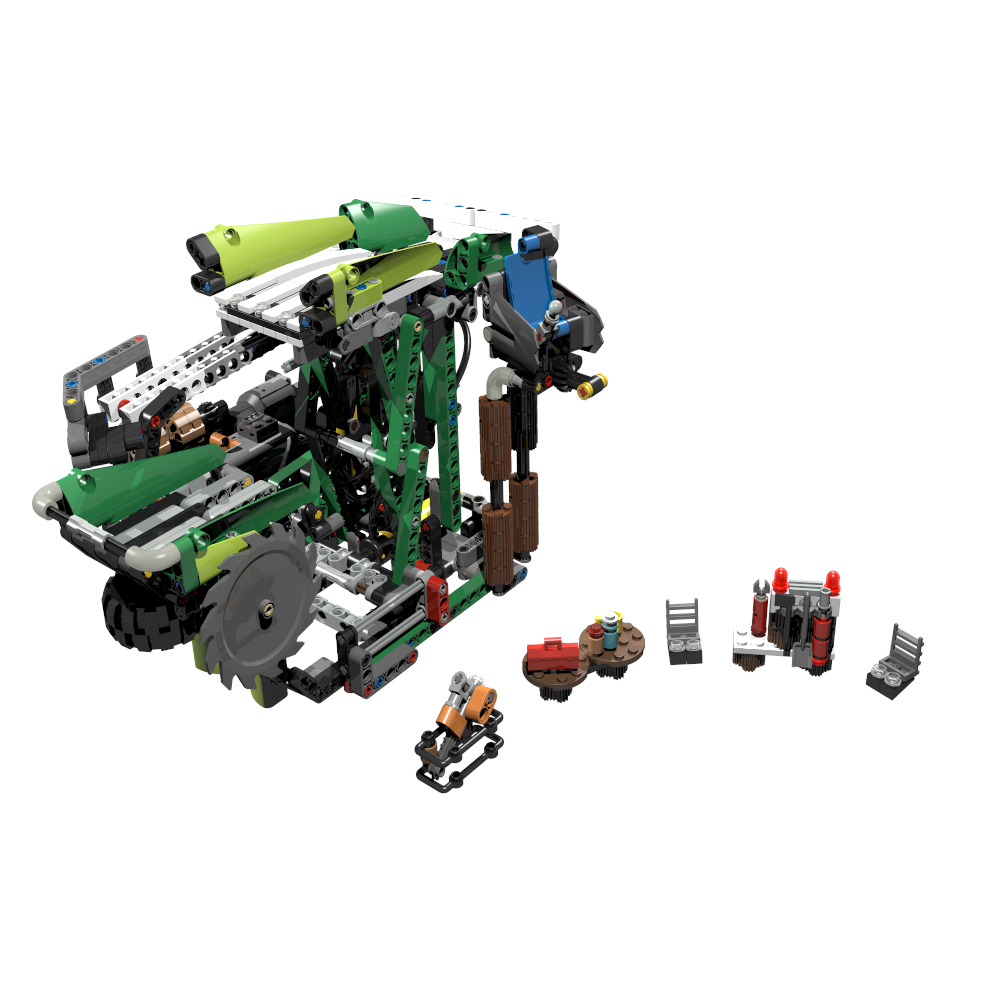 C Model Building Instructions (Made of LEGO parts)   PV