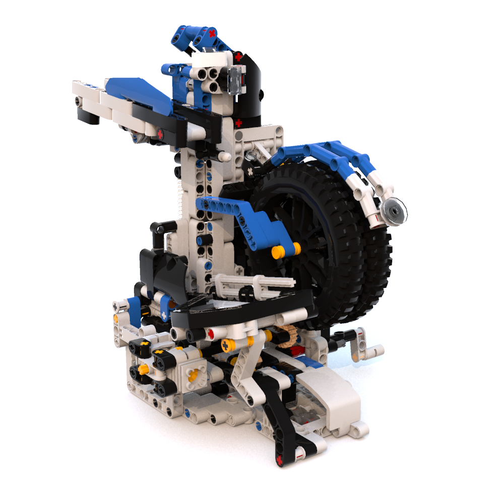 C Model Building Instructions (Made of LEGO parts) | PV